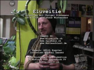 Eluveitie - Interview im Salzhaus