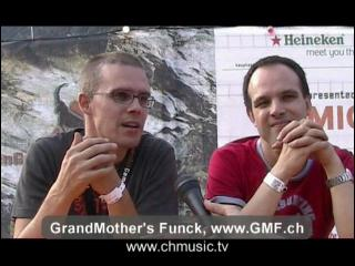 GMF - Grand Mothers Funck - Interview in Gampel
