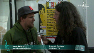 Knackeboul - Interview am Reeds Festival 2011