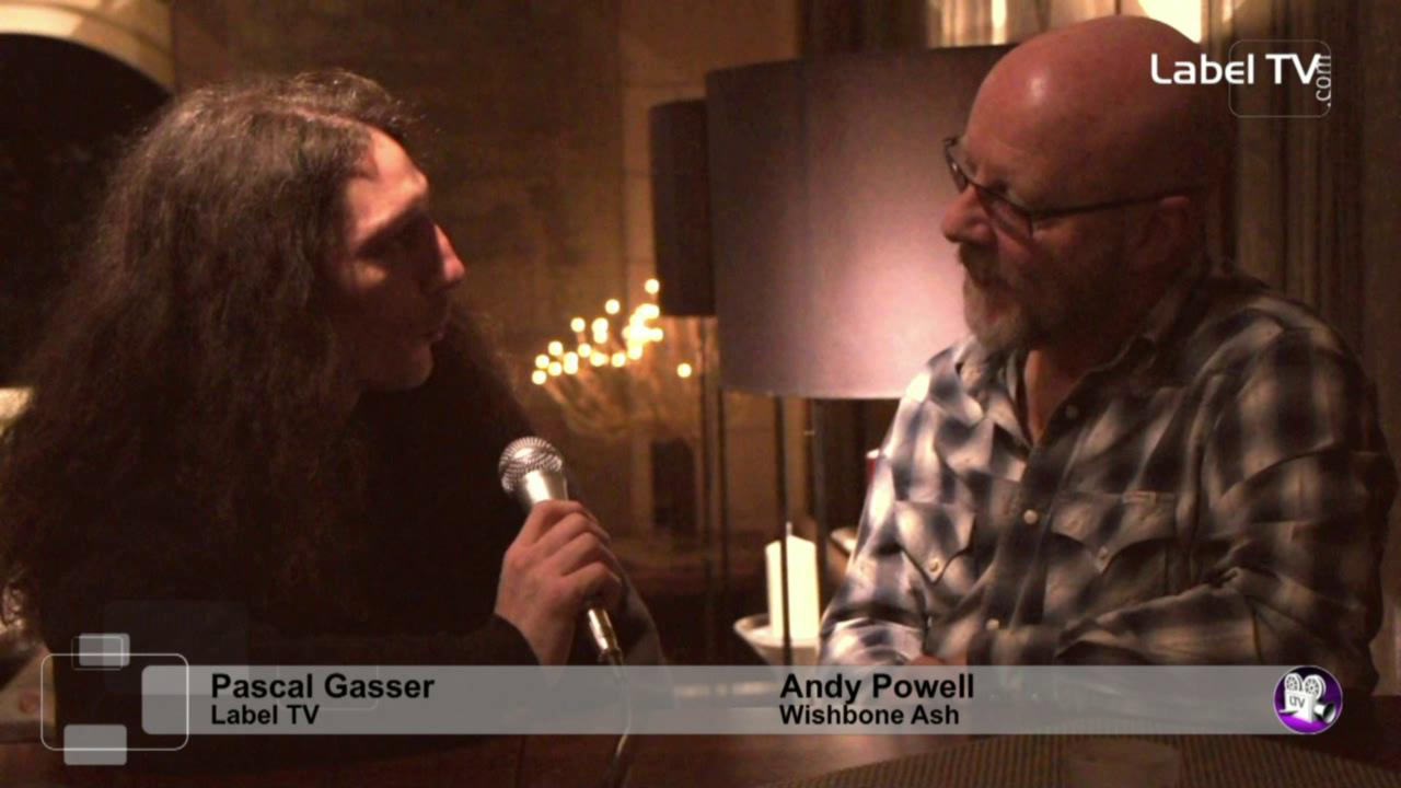 Wishbone Ash - Interview with Andy Powell in Switzerland