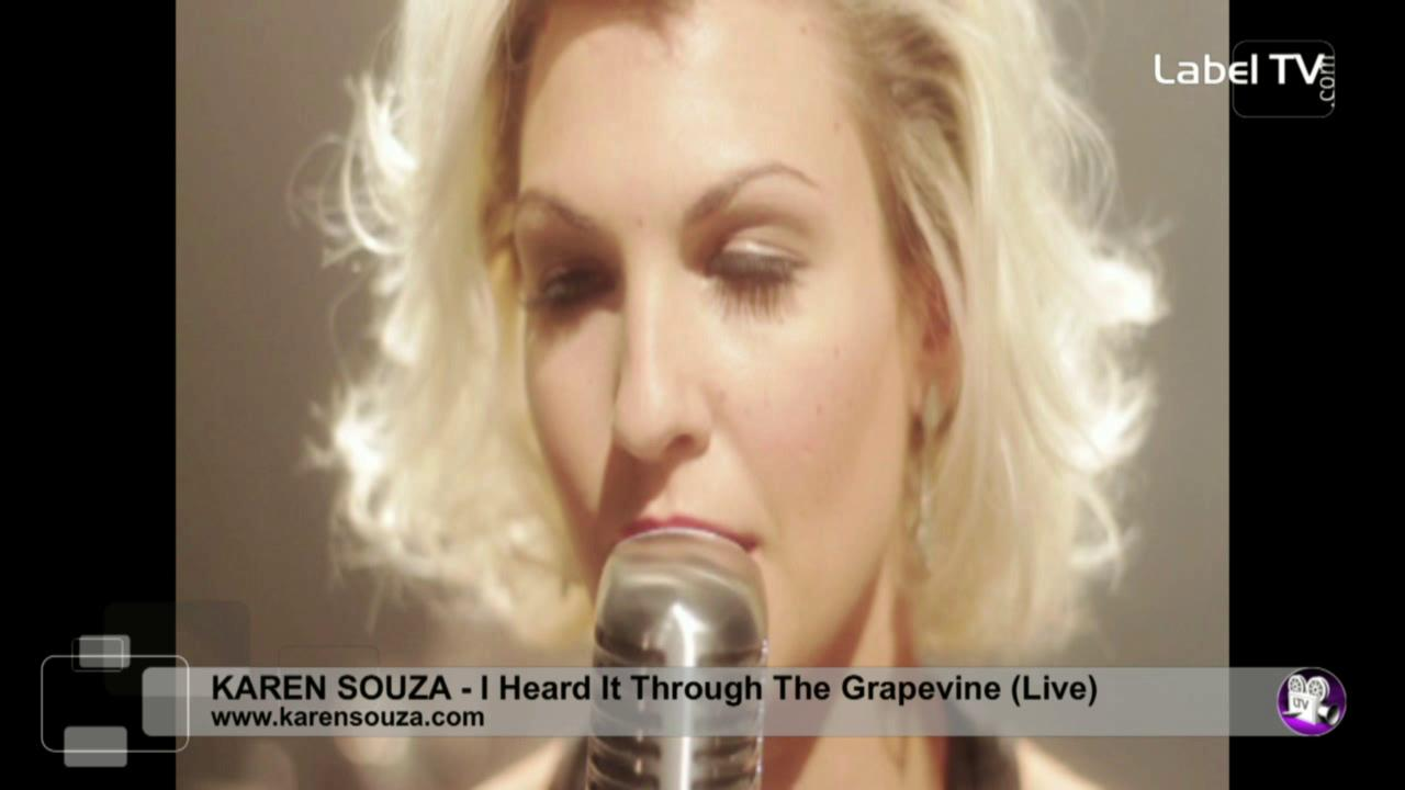 Karen Souza - I Heard It Through The Grapevine (Live)