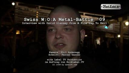A Fine Day To Exit - Interview at Metal-Battle