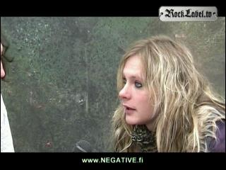 Jonne Aaron of Negative - Interview in Switzerland