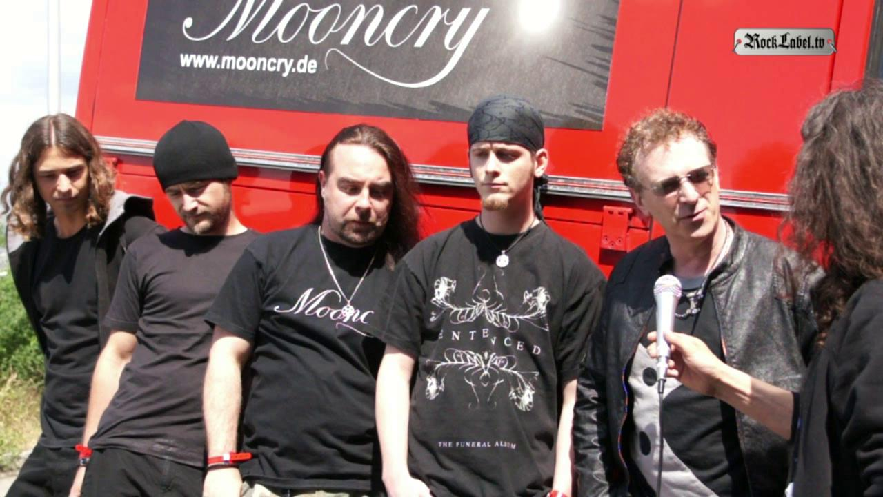 Mooncry - Interview am Metalfest Schweiz 2011