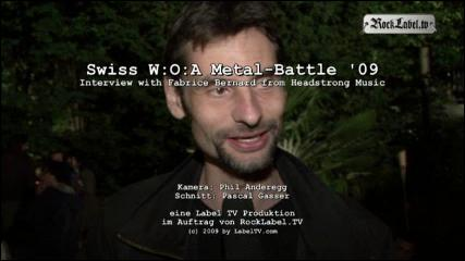 Swiss Metal-Battle '09 - Interview avec Fabrice Bernard