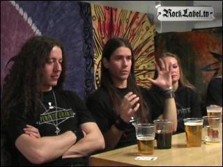 Triosphere - Interview at Metal Inferno