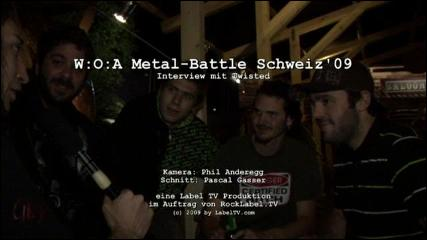 Twisted - Interview at Metal-Battle