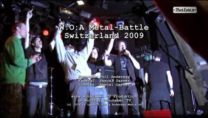 W:O:A Metal-Battle Switzerland - Swiss Final 2009 in Lucerne