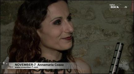 November-7 - Interview with Annamaria
