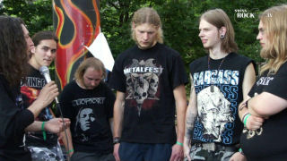 Omnicide - Interview am Metal-Battle Finale